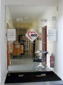 Eingang zum AWO Betreuungs-verein Kreis Südwestpfalz e.V.