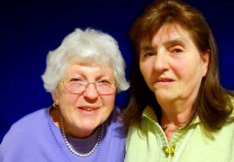 Frau Höld und Frau Funk, ehrenamtliche Betreuerinnen des AWO Betreuungsverein